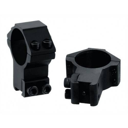 UTG ANELLI ACCUSHOT 30mm ALTI ATTACCO DIANA 11mm RGPM-30H4