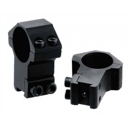 UTG ANELLI ACCUSHOT 1 ALTI ATTACCO DIANA 11mm RGPM-25H4