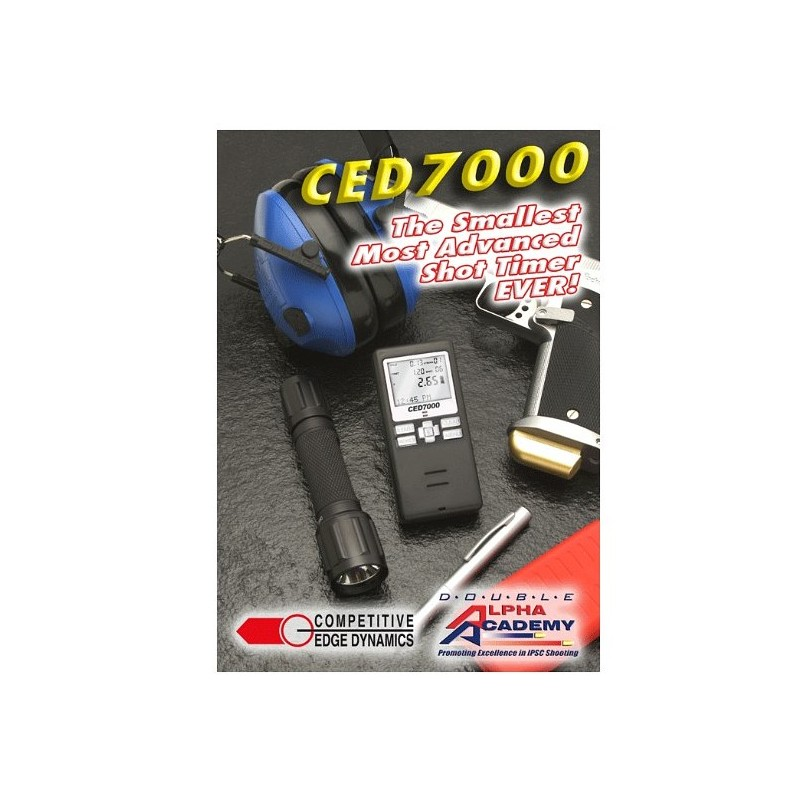 COMPETITIVE EDGE DYNAMICS TIMER MOD CED 7000
