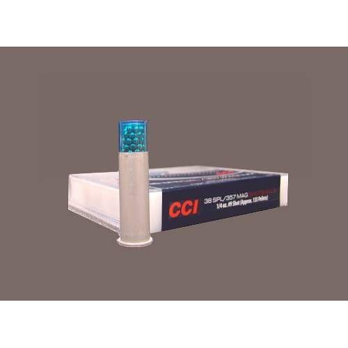 CCI CARTUCCE A PALLINI CAL. 38SPL *Conf. da 10pz*