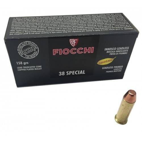 FIOCCHI CARTUCCE CAL. 38 SPECIAL LL TCCP RAM 158grs *Conf. da 50pz*
