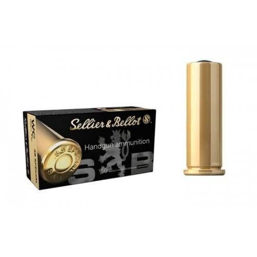 SELLIER & BELLOT CARTUCCE CAL 38 SPL WC PB 148grs *Conf. da 50pz*