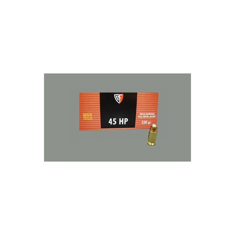 FIOCCHI CARTUCCE CAL. 45 HP FMJ 230grs *Conf. da 50pz*