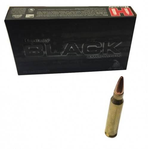 HORNADY CARTUCCE BLACK Cal. 223REM 75grs BTHP *Conf. da 20pz*