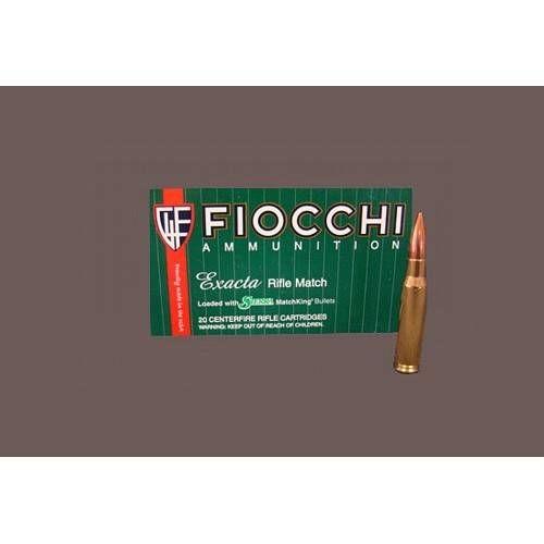 FIOCCHI CARTUCCE EXACTA FOA KING CAL. 308 WIN 168grs *Conf. da 20pz* (@)