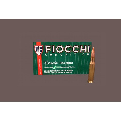 FIOCCHI CARTUCCE EXACTA FOA KING CAL. 308 WIN 168grs *Conf. da 20pz*