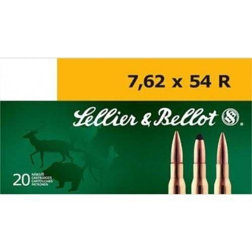 SELLIER & BELLOT CARTUCCE CAL.7.62x54R FMJ 180grs *Conf. da 50pz* (@)