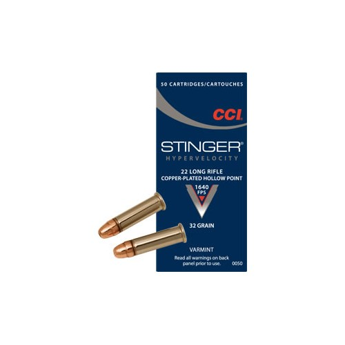 CCI CARTUCCE CAL. .22 LR STINGER PENTA POINT HP *Conf. da 50pz*