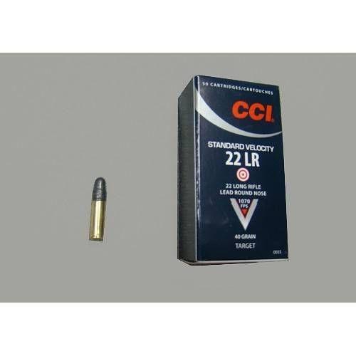 CCI CARTUCCE CAL. .22LR STANDARD VELOCITY *Conf. 50pz* (@)
