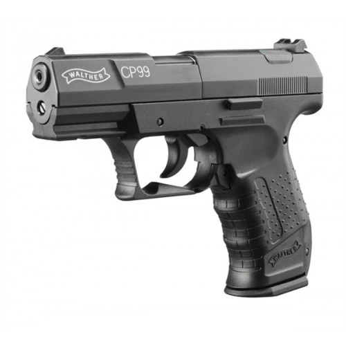 UMAREX WALTHER PISTOLA CP 99 NERA CO2 -7,5J CAL. 4,5 C.N. 54