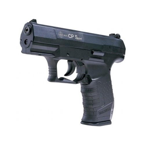 UMAREX WALTHER PISTOLA CP SPORT NERA CO2 -7,5J CAL. 4,5 C.N. 652/160