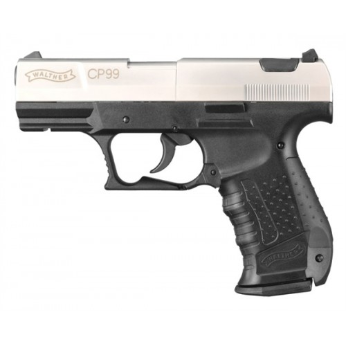 UMAREX WALTHER PISTOLA CP 99 BICOLOR CO2 -7,5J CAL. 4,5 C.N. 54