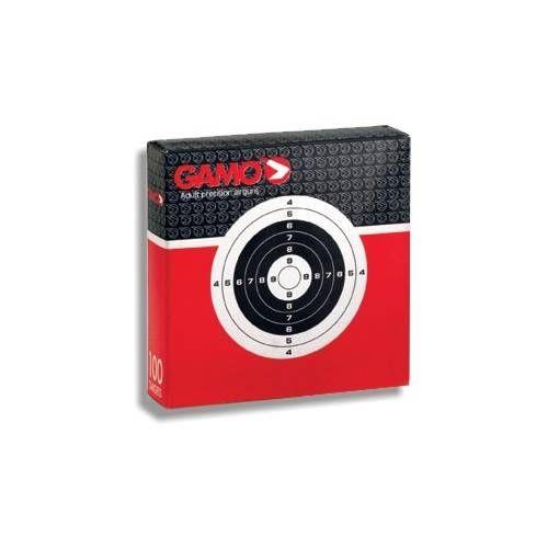 GAMO/SC/UMAREX CENTRI CARTONCINO PER CARABINA A/C 14x14 *conf. 100pz.*