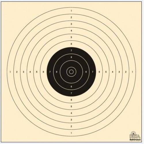 EDELMANN 2000N BERSAGLIO P10 (17x17) NERO *Conf. da 250pz*