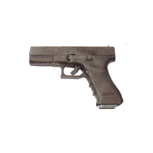 BRUNI PISTOLA A SALVE TIPO GAP 17 NERA 8mm (@)