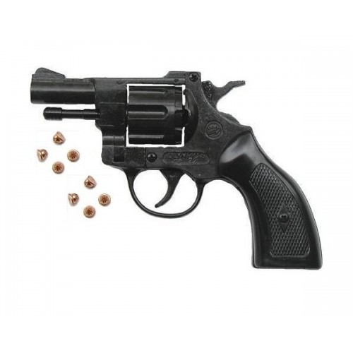BRUNI PISTOLA REVOLVER A SALVE OLYMPIC 6mm (@)
