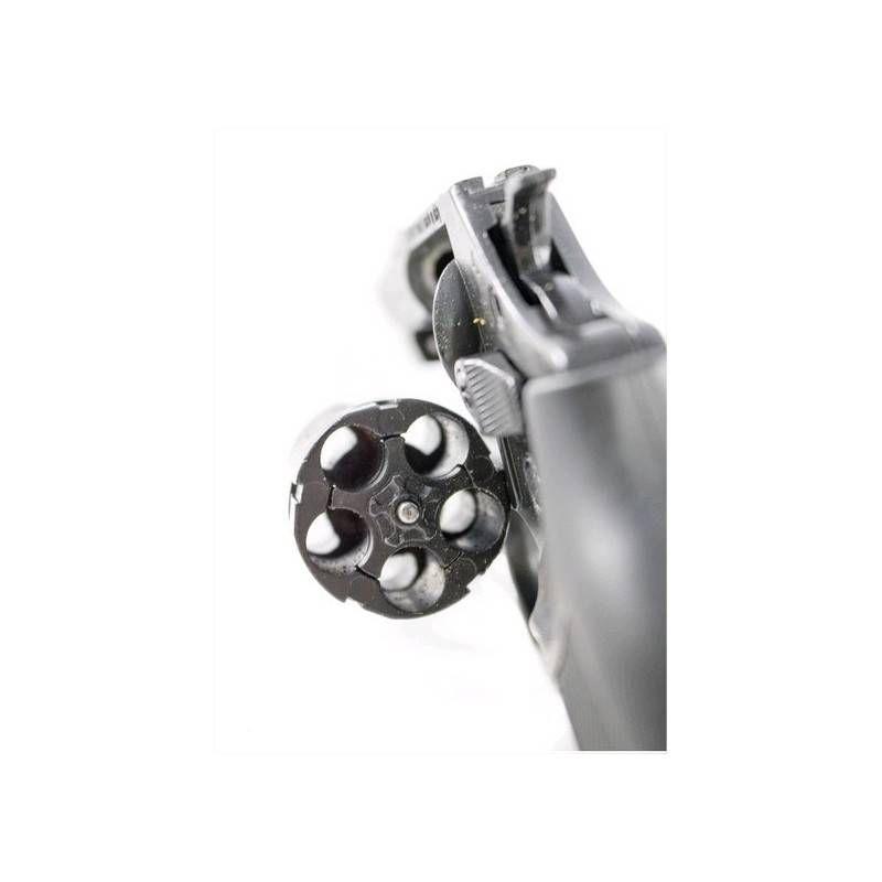 BRUNI PISTOLA REVOLVER A SALVE NEW 380 2 NERA .380 guancette NERE (@)