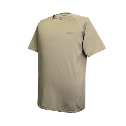 VERTX MAGLIA TRAINING ULTRALIGHT MANICHE CORTE COYOTE TAN