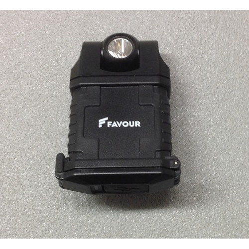 FAVOUR TORCIA A LED INDUSTRIAL CON CLIP 180 LUMENS