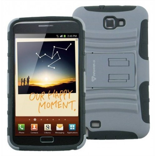 ARMOR-X COVER ACS S41 PER GALAXY NOTE II CON HOLSTER