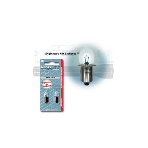 MAGLITE LAMPADINE RICAMBIO D/CELL PACK-2