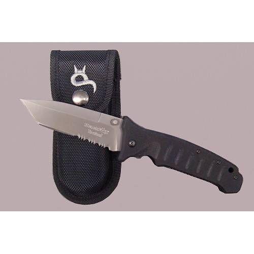 FOX KNIVES COLTELLO BLACKFOX TACTICAL G10 LAMA TANTO TITANIUM COATING