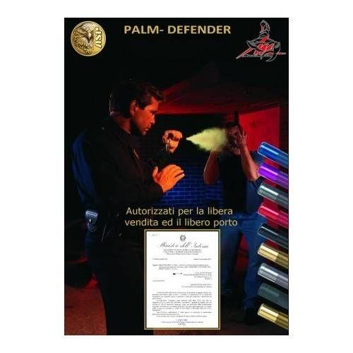 ASP PALM DEFENDER SPRAY ANTIAGGRESSIONE AL PEPERONCINO (@)