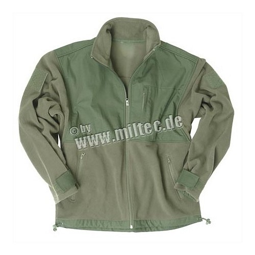 MILTEC GIACCA IN MICRO PILE RIPSTOP PATCH OLIVE