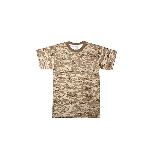 USA T-SHIRT MANICA CORTA DIGITAL DESERT