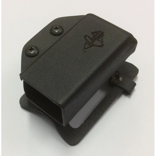 TACTICAL GEAR KIT PORTA CARICATORE PMAG 01 KK BIFILARE 9mm NERO AMBIDESTRO