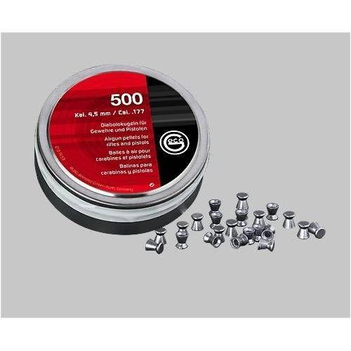RWS DIABOLO GECO 4.5mm LISCIO 0.45g *Conf. da 500pz*