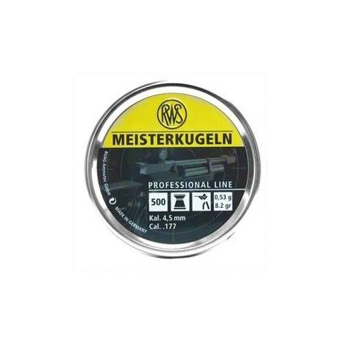 RWS DIABOLO MEISTERKUGELN 4.5mm 0.53g GIALLO *Conf. da 500pz*