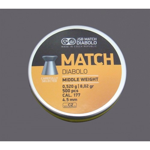 JSB DIABOLO MATCH RIFLE *conf.500pz.*