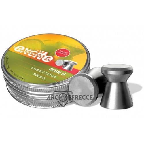 H&N DIABOLO EXCITE ECON II TESTA PIATTA 4,5mm 0,48g *Conf. 500pz*
