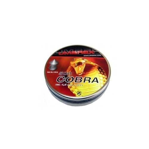 UMAREX DIABOLO A PUNTA COBRA cal. 4,5 0.52gr. *Conf. 500pz*