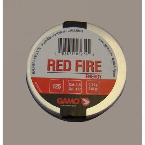 GAMO DIABOLO RED FIRE Cal. 4.5mm 0,51gr *Conf. 125pz*