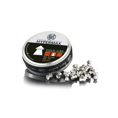 RWS DIABOLO HYPERMAX 4.5mm 0.34g *Conf. da 200pz*