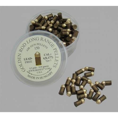 SKENCO DIABOLO A PUNTA ARIZONA GOLD 0,56g Cal. 4.5mm *Conf. 150pz*