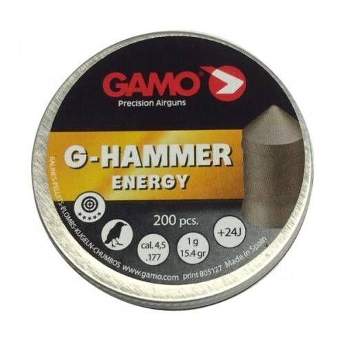 GAMO DIABOLO G-HAMMER Cal. 4,5mm *Conf. 200pz*