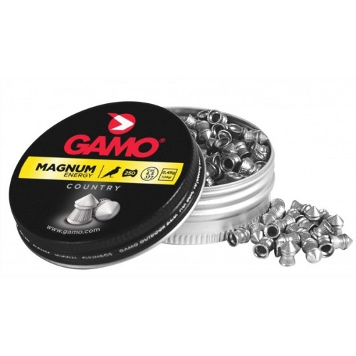 GAMO DIABOLO A PUNTA MAGNUM ENERGY Cal. 4,5mm 0,49g *Conf. 250pz*