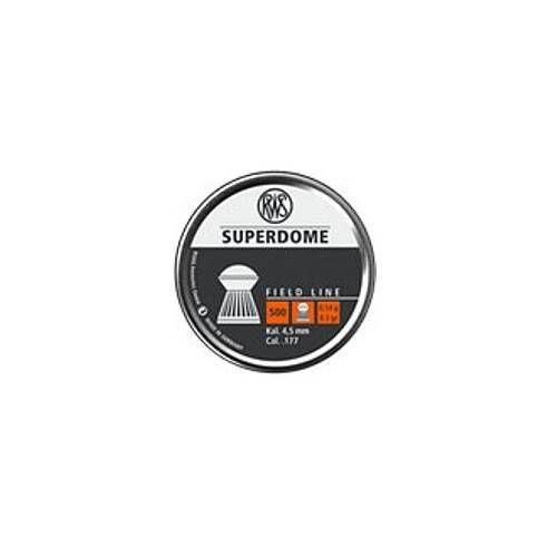 RWS DIABOLO SUPER DOME 4.5mm 0.54g *Conf. da 500pz*