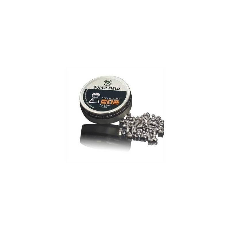 RWS DIABOLO SUPER FIELD 4.5mm 0.54g *Conf. da 500pz*