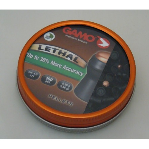 GAMO DIABOLO LETHAL Cal. 4,5mm *Conf. 100pz*