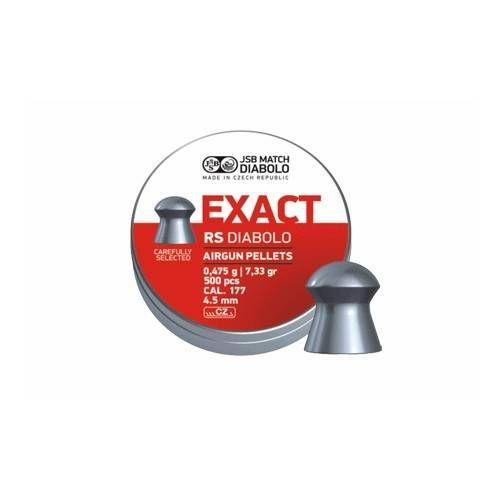 JSB DIABOLO EXACT RS *conf.500pz.*