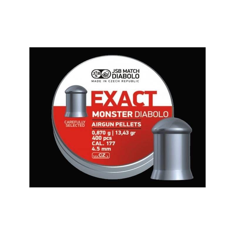 JSB DIABOLO MONSTER EXACT *conf.400pz.*