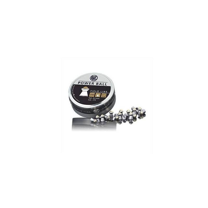 RWS DIABOLO POWER BALL 4.5 mm 0.61g *Conf. da 200pz*