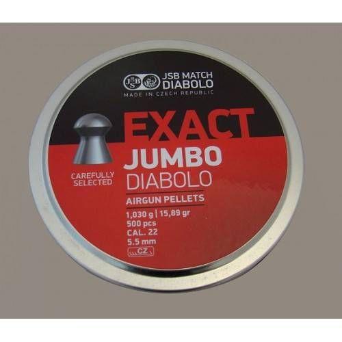 JSB DIABOLO JUMBO EXACT *conf.500pz.*