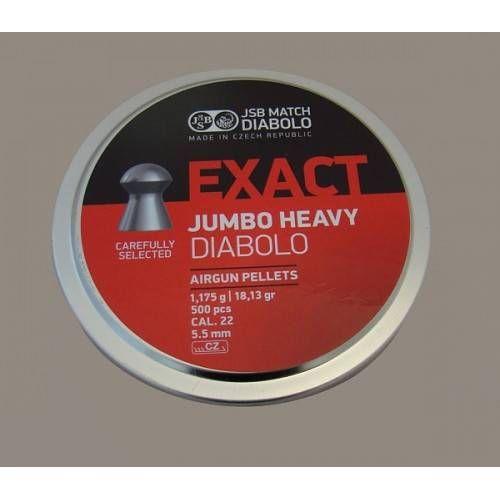 JSB DIABOLO JUMBO HEAVY EXACT *conf.500pz.*