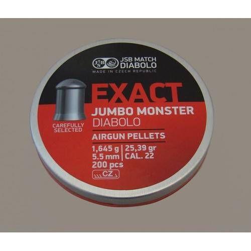 JSB DIABOLO JUMBO MONSTER EXACT *conf.200pz.*