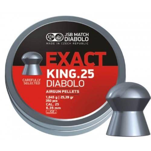 JSB DIABOLO EXACT KING.25 *conf.350pz.*